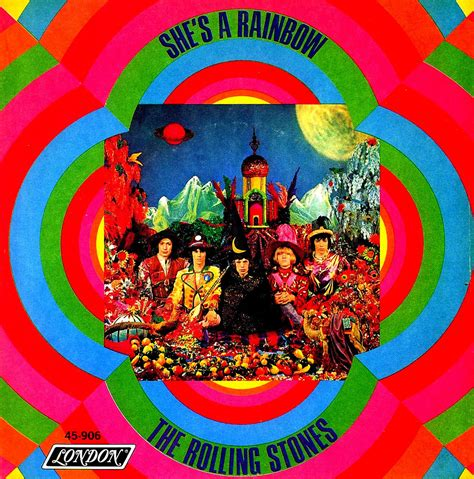 Rolling Stones - She's A Rainbow - US - 1967 | Cover only ...