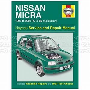 Haynes Workshop Manual Nissan Micra  93
