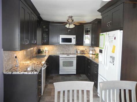 Woodcrest Rift Oak Thunder cabinets   Modern   Kitchen
