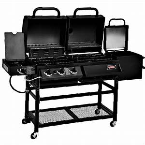 Kohle Gasgrill Kombination : hybrid gas and charcoal grill bbq smoker box combo barbeque burner side portable barbecues ~ Frokenaadalensverden.com Haus und Dekorationen
