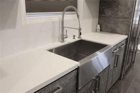 stainless steel single bowl flat front farm apron kitchen sink