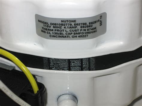 87406000 broan nutone attic fan motor roof mount d0816b2778 87405000 87425000 ebay