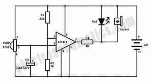 ir beam breaker circuit With infrared circuits