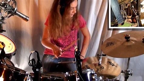 jump van halen drum cover    year  girl