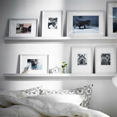 ikea picture ledge floating shelf spice rack knoppang wall