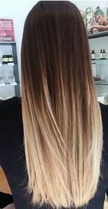Ombre Hair Blond Polaire : ombre hair le balayage californien usa coiffure a domicile styles hair le pontet 84 ~ Nature-et-papiers.com Idées de Décoration