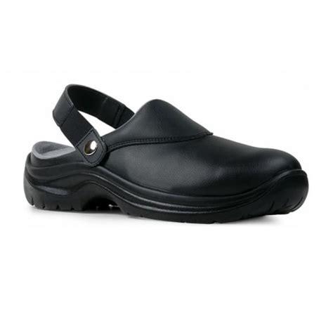 sabot de cuisine noir chaussures securite femme la halle