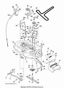 Drive Belt Diagram For Poulan Riding Mower
