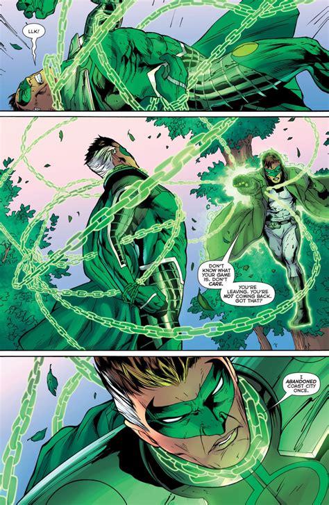 hal jordan  parallax green lantern