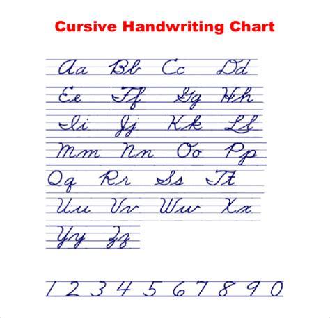 cursive writing template 11 cursive writing templates free sles exle