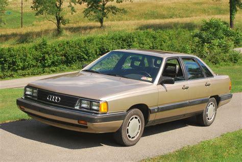 how make cars 1986 audi 5000s engine control 1985 audi 5000s german cars for sale blog