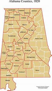 Alabama Maps - Historic