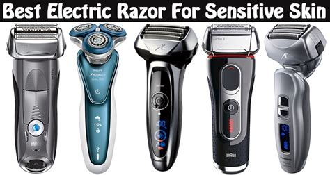 top electric shavers sensitive skin updated august