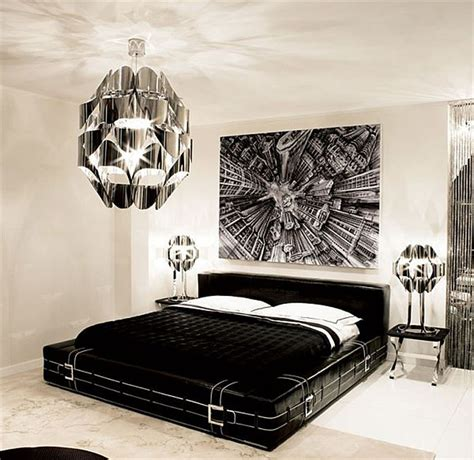 Modern Bedroom Design Ideas Black And White by Black And White Bedroom Interior Design Ideas