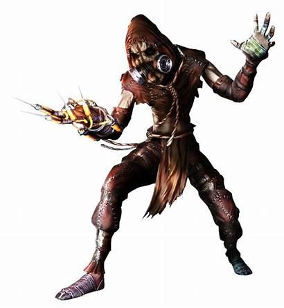 Scarecrow Arkham Batman Asylum Dc Telltale Comics