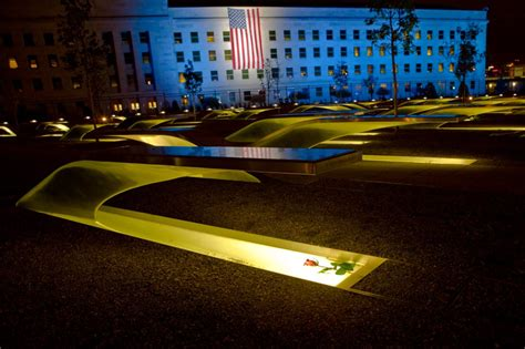 national  pentagon memorial washingtonian