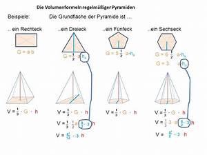Fünfeck Berechnen : v pyramide v w rfel 1 6 das volumen einer pyramide ppt video online herunterladen ~ Themetempest.com Abrechnung