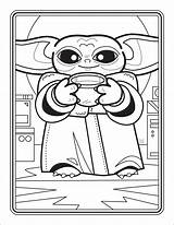 Coloring Yoda Pages Books Popular sketch template