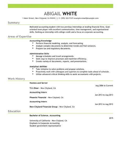 Where To Put My Internship On My Resume by Best Internship Resume Exle Livecareer