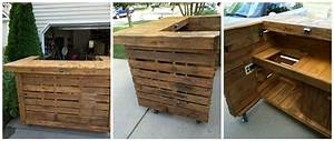 Backyard Pallet Bar • 1001 Pallets