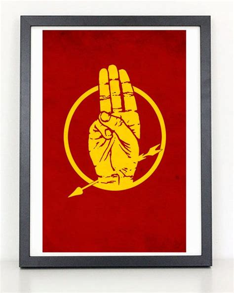 what does the hunger sign hunger games hand signal minimalist poster by