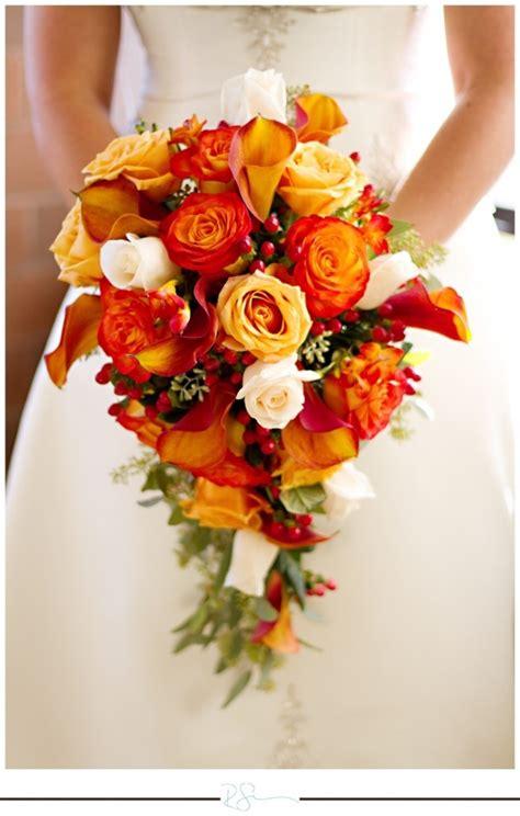 Orange Bouquets For Weddings