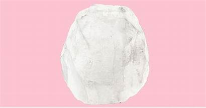 Crystal Deodorant Rock Stone Shape Natural Rubbed