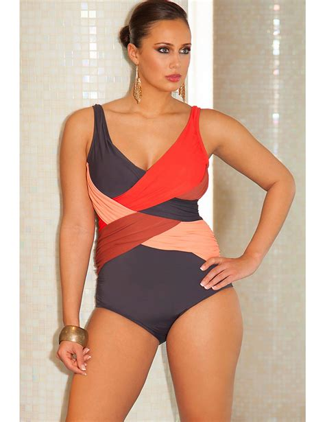 phoenix crossover swimsuit lane bryant  images