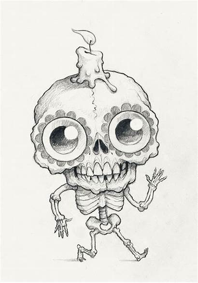 Monster Drawing Creepy Drawings Ryniak Chris Scribble