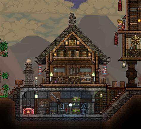 elegant terraria house designs