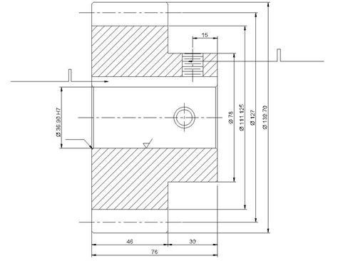 autocad dwg isometric view   spur gear  p hub xx section  elevation