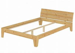 Bettgestell Holz 140x200 : doppelbett massivholz bettgestell kiefer natur 140x200 futonbett ohne zubeh r or ~ Indierocktalk.com Haus und Dekorationen