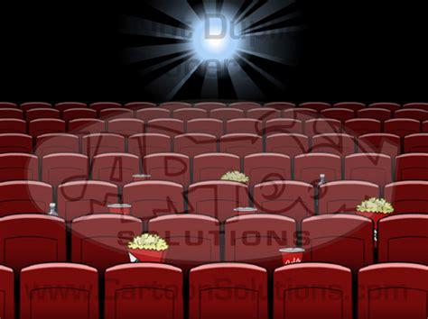 anime movie cinema movie theater seats flash animate cartoon solutions