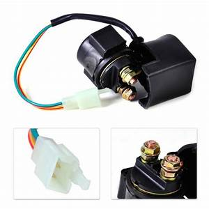 Dwcx New Starter Solenoid Relay For Atv Scooter 70cc 150
