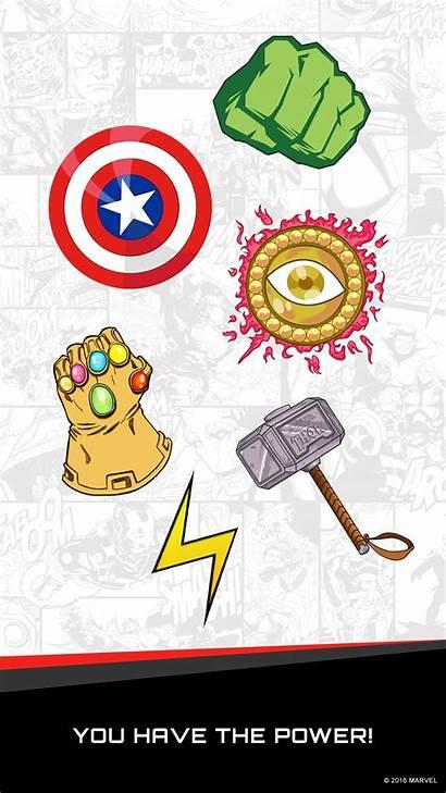 Marvel Stickers App Ios Power Nerdspan Items