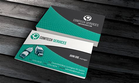 14 Psd Visit Card Pc Images