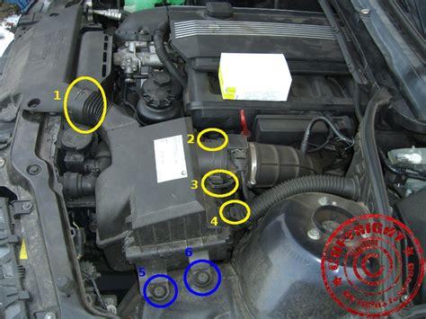 luftmassenmesser bmw e46 how2 e46 m52b25t 220 nockenwellensensor wechseln bmw drivers