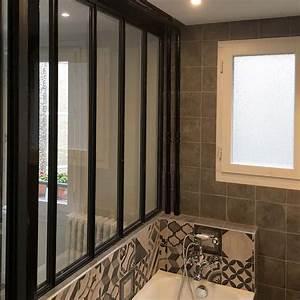Cout Salle De Bain 4 M2 : am nagement d 39 une salle de bain et d 39 une chambre paris 16 drop ~ Melissatoandfro.com Idées de Décoration