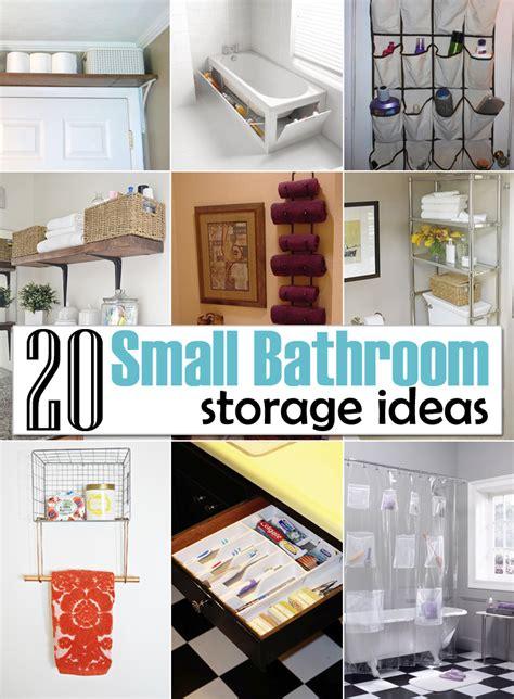 creative storage ideas   small bathroom organization