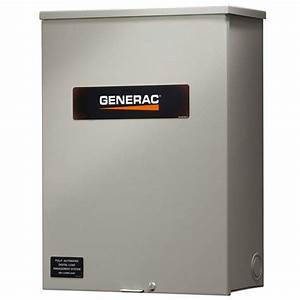 Generac Rxsw100a3 100 Amp Service Rated Automatic Transfer
