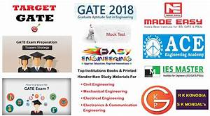 Gate Exams Study Materials For Civil Chemical Mechanical Electrical Electronics  U0026 Communication