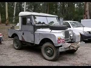 Land Rover Serie 1 : land rover series 1 youtube ~ Medecine-chirurgie-esthetiques.com Avis de Voitures