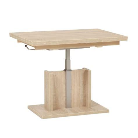 table basse pas cher relevable le bois chez vous