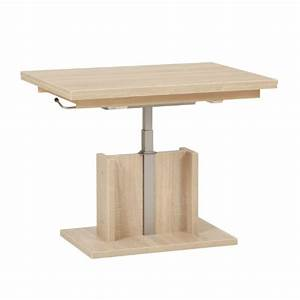 Table Basse Relevable Pas Cher : table gigogne bois pas cher ~ Teatrodelosmanantiales.com Idées de Décoration