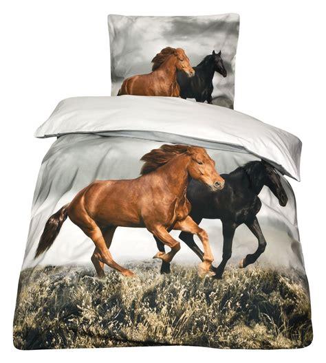 pferde bettwaesche pferde bettw sche haus planen