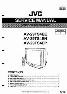 Jvc C21z Cz Service Manual Free Download  Schematics