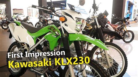 Review Kawasaki Klx 230 by Harga Motor Kawasaki Klx Murah Siteandsites Co