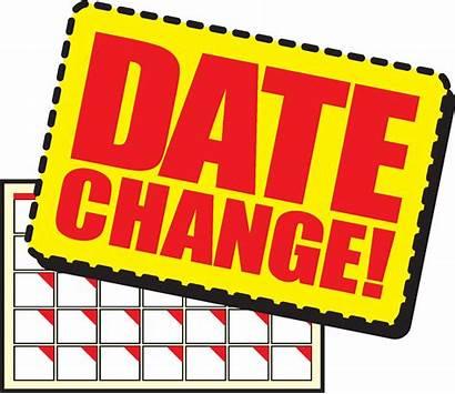 Change Date Clipart Clip Info Announced Soon