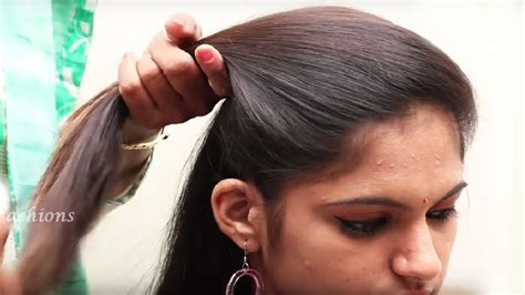 easy beautiful hairstyle  long hair hairstyle video