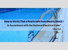 Pool Safety Equipotential Bonding Mazza Pool Inspections
